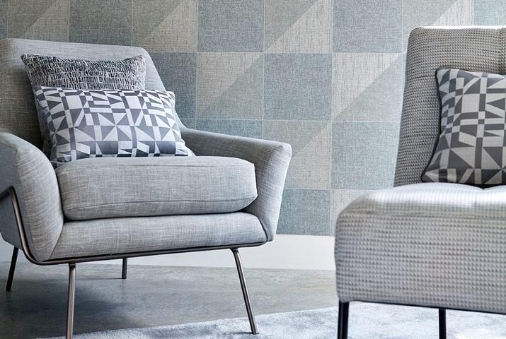 https://spiegelinteriors.com/3-quadric-fabric-living-room-grey-metallic-geometric-carousel-harlequin-style-library-august-2017.jpg