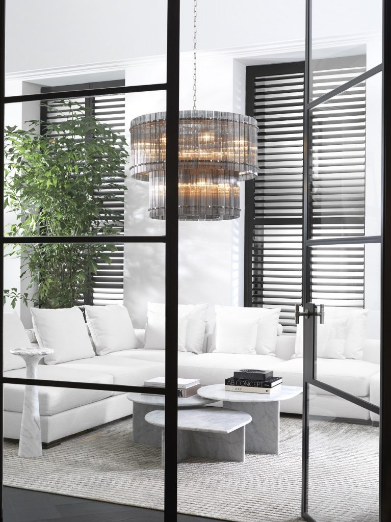 all white modern comfort interior